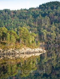 Landscape of Loch Beinn